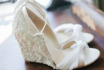 Bridal Shoes  / Have you found your wedding day sole-mate? Maybe you'll find the perfect pair here!  / by Natalie K