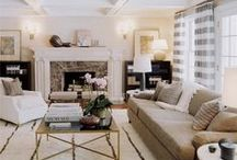 Living Area Spaces / by Anita S.