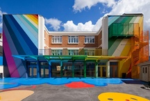 Educational Architecture / Architects and designers work hard to create amazing learning environments for both K-12 and University students. Check out some of their amazing work here.  / by SARGENT Lock