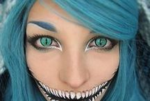 Zombie makeup.  / Art form.  / by Joanne Bradford