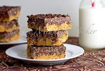 Brownies & Bars / It's not a holiday...it's just a day when you need a little something sweet. / by Shay Shull