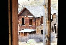 Abandoned Structures & Ghost Towns / by Arlene McKnight
