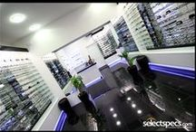 In Store / Pins from our High Street store - SelectSpecs.com Opticians in Westgate-on-sea. Why not pop in and see us? We offer the most advanced eye test on the market thanks to our new 3D OCT Scanner. / by SelectSpecs