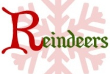 R is for Reindeers Handmade Holidays / by Anna S