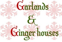 G is for Garlands and Ginger houses / Day 7 of HANDMADE HOLIDAYS project at www.sas-does.blogspot.com / by Anna S