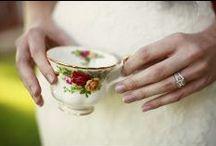 TEA THEMED WEDDING / Tea themed wedding ideas + decor / by Emmaline Bride | Handmade Wedding Blog
