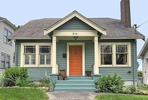 Client ideas:  The House with the Orange Door / by Genie Norris of ColorGenie
