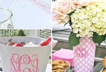 Monogram party / by Lizzie Elmore