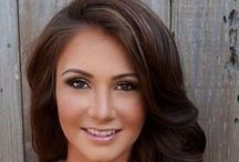 BRUNETTES / Brown haircolor / by Sharon Angemeer-Despines