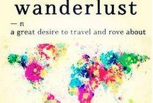 Wanderlust / by A M Y
