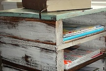 Focus: pallets / There are really a lot of things to do with them. / by Heather Palmer