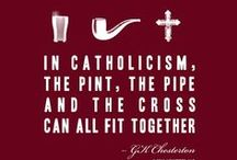 ✞  Est. 33 A.D.  ✞ / Catholicism / by Jamie Lynne