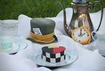 Mad Hatter Tea Party / We're all mad here / by Catherine Rose