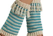 Crochet Leg Warmers / by Diane