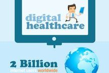 eHealth / Health care and technology and internet / by Jorge Sebastiao