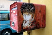 Urban Stencilz + Street Art / Imagez that intrigue me. / by mystinkypete