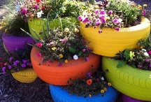 My House Beautiful - Outdoor spaces / any idea for cute outdoor spaces / by Martha Hall