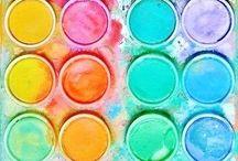 Colour Palette Inspiration / by Atelier Rousseau Bridal