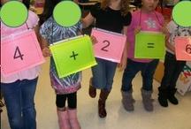 Kindergarten math / by Brenda Monterrosa