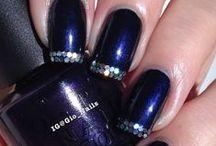 FINGERNAILS  / Different types of designs for fingernails.  / by Karen Taylor