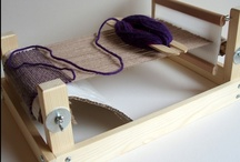 WEAVING / The process of making thread into cloth. / by Karen Taylor
