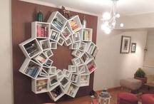 Bookshelves / by Megan Carter