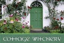 Cottage of Witchery / Enchanting Cottage Style, Cottage theme decorating, gardens.... Hearth & Home Magick! / by Ellen Dugan