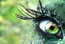 Green-eyed Goddess / Green eyes are enchanting!  / by Ellen Dugan