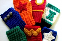 Crochet Hats, Headwarmers and Winter Gear / by April Conner