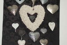Hartjes, hearts, coeurs / de leukste vorm en I love that. Ook in mijn eigen huis is heel veel in hartvorm te vinden! / by Marianne de Wildt-Engelenberg