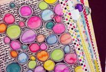Art Journaling Inspiration / Inspires me to open up and create.... / by Marcie Manheimer Hall