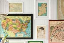 Map Happy / I love maps  / by Lori Lamb