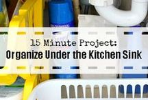 Great Organizing Blogs / From organizing aficionados to professional organizers, an organizing tip and blog for every cluttered corner of your home!  / by Helena Alkhas @ A Personal Organizer