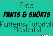2.Boys Shorts & Pants tutorial/pattern / by Adam West