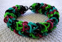 Rainbow looms for Kiara / Kiara's new hobby  / by Amber Murray