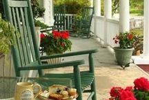 < The Porch ~ Come & Sit A Spel >l / by Momma