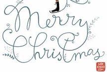 seasonal | jingle all the way / Christmas / by TypeArtist | Susan