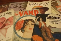 Vintage Sheet Music / by Linda Muether