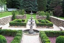 Formal Garden Ideas / by Jennifer Dickert