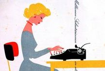 olivetti + friends / illustrations and advertising for typewriters / by TypeArtist | Susan