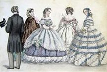 Costume--1850s to 1860s / by Stacy Hampton