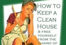 Cleaning tips / by Stacy Hampton