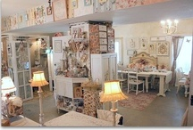 My dream craft room / So many pretty things / by Painting the Roses Red