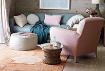 Decorating with Pastels / Who said pastels were only for Easter? Light pastel hues are timeless in home decor. / by Lamps Plus
