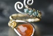 jewelry takes the mind off wrinkles / necklaces, bracelets, anklets, rings, and shiny things / by Janna Clark