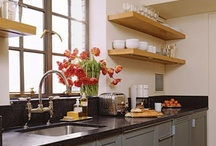 Kitchen Ideas / Perfect, tiny kitchen ideas / by Amy Sisco