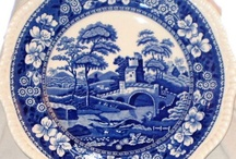 Spode Blue Tower Portmeirion / Decided to combine this Board with another one for Portmeirion ceramic pieces.... Have added Royal Copenhagen, Denmark's Flora Danica which has fine, delicate HP artwork. All of these ceramics have fabulous French country cross over appeal........ / by Trish Robinson