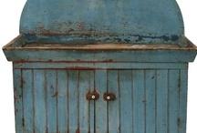 Primitives Antiques Olde Blue / by Trish Robinson