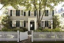 exteriors/doors/plans / by Amy Hale