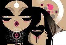 Illustrations  / by KON DEF